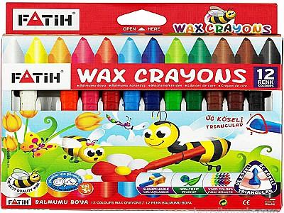 Fatih 12'li jumbo wax crayon